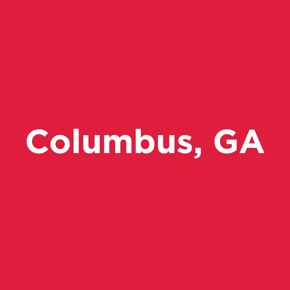 Columbus, GA: October 14 – November 12, 2021