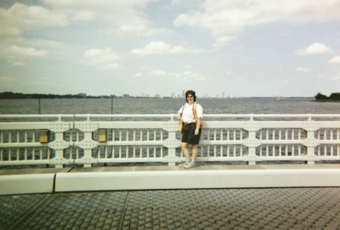 Barb on Bridge