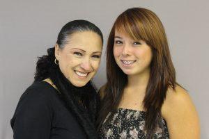 Alicia Beltrán-Castañeda and Serena Castañeda