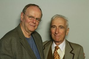 Gay Talese and Bob Walsh