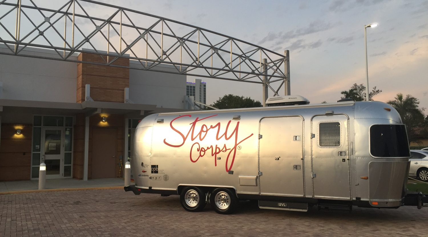 Announcing the 2017 StoryCorps MobileBooth Tour
