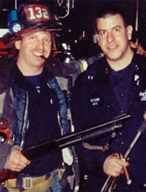 Joseph Vigiano, detective, and John Vigiano, firefighter, WTC victims. off vigiano website