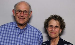Larry Kushner and Eileen Kushner