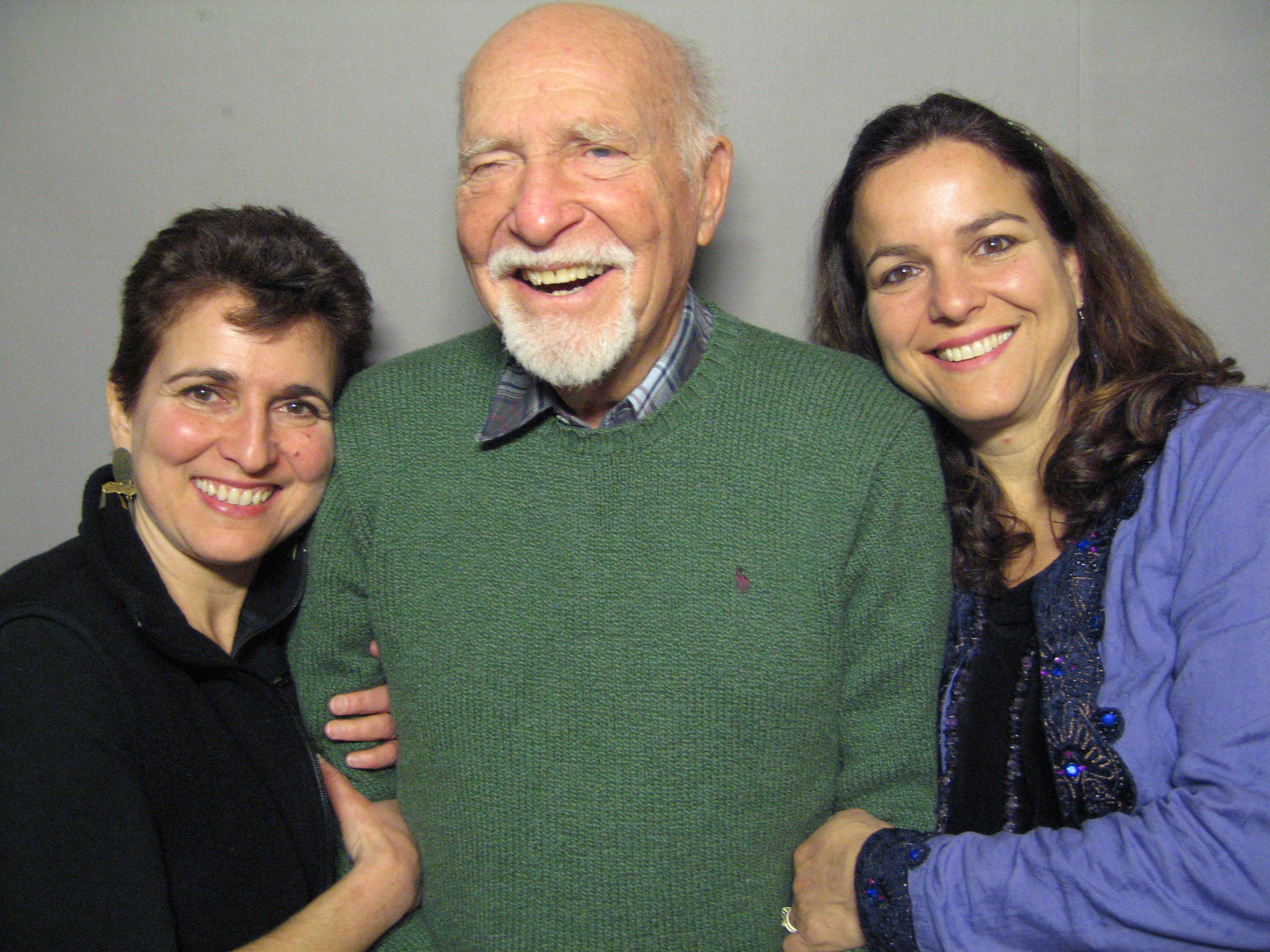 Ken Morganstern, Priya Morganstern, and Bhavani Jaroff