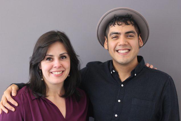 NCSU Libraries_Saul Flores and Marian Fragola