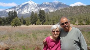 Carolyn Shoemaker and Phred Salazar