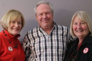 Terri Van Keuren, Rick Shoup and Pamela Farrell