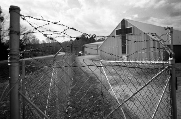 With barbed wire encircling the entire compound, the New Bethany Home for Girls as is appeared in December of 1988. (Nola.com | The Times-Picayune archive photo by Ellis Lucia)