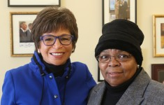 "Valerie Jarrett and Edith Childs: ""Fired up! Ready to go!"""