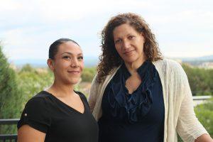 Jasmine Pacheco and Carmen Pacheco-Jones