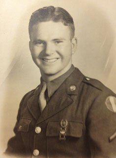 Army Sgt. Harrison Wright as an 18 year-old. Photo courtesy of Harrison Wright.